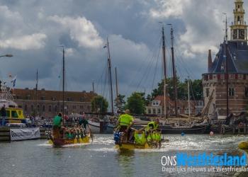 Winnaars Drakenbootrace Hoorn naar NK [foto's+video]