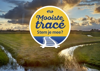 Tracé Haarlem-Hoorn mooiste treinreis van Nederland?