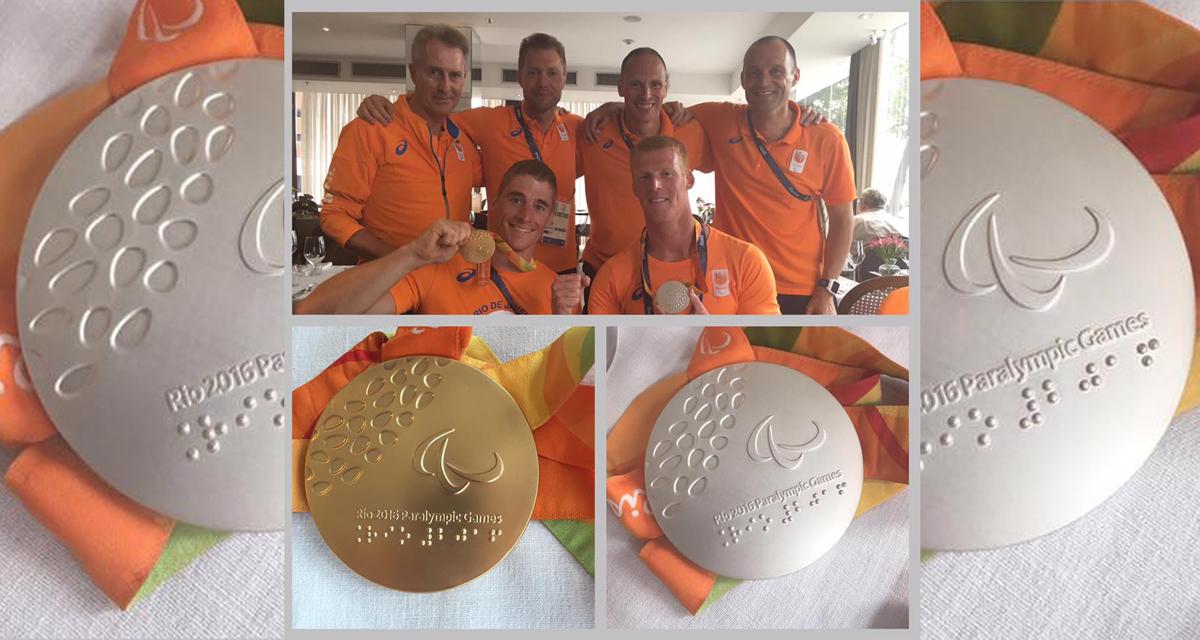 Geert Schipper pakt zilver bij paratriathlon in Rio [blog]