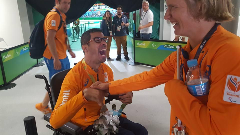 Geert Schipper in Rio; 'Blije gezichten maar ook tranen van verdriet'