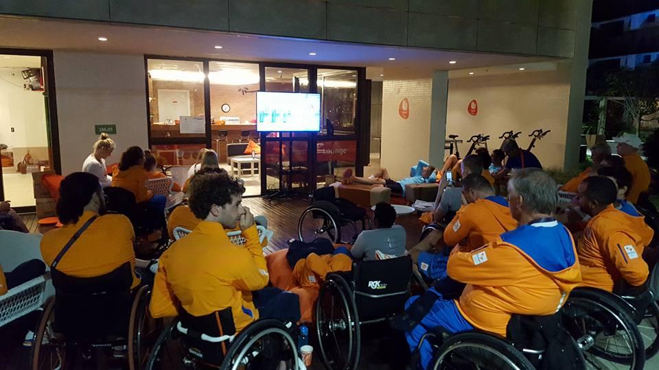 Paralympiër Geert Schipper: Dag 4 voor mijn wedstrijd; Opening op tv