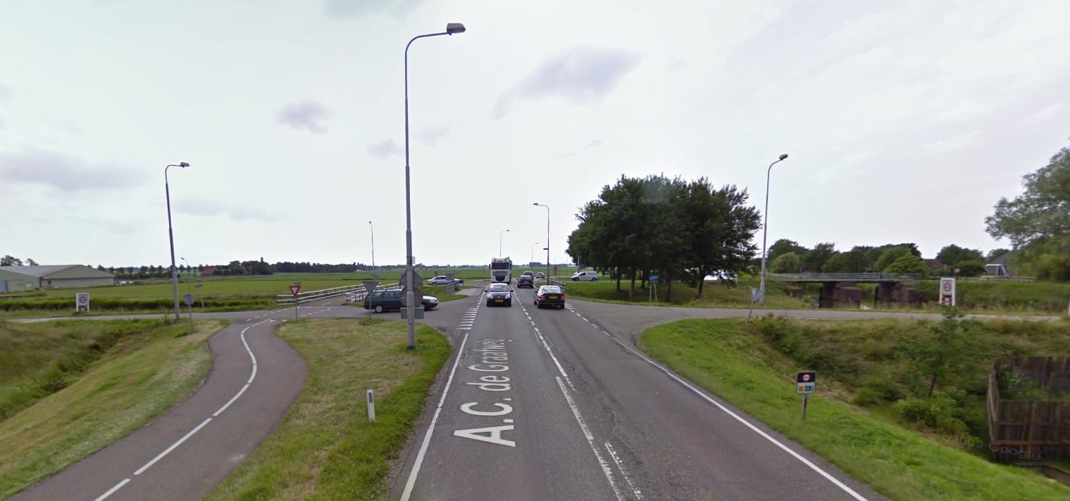 Provincie gaat kruising Langereis – AC de Graafweg (N241) met spoed aanpassen
