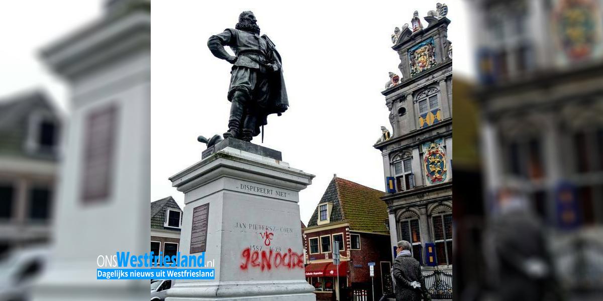 Actiegroep bekladt standbeeld J.P. Coen; Doelwit meer VOC monumenten