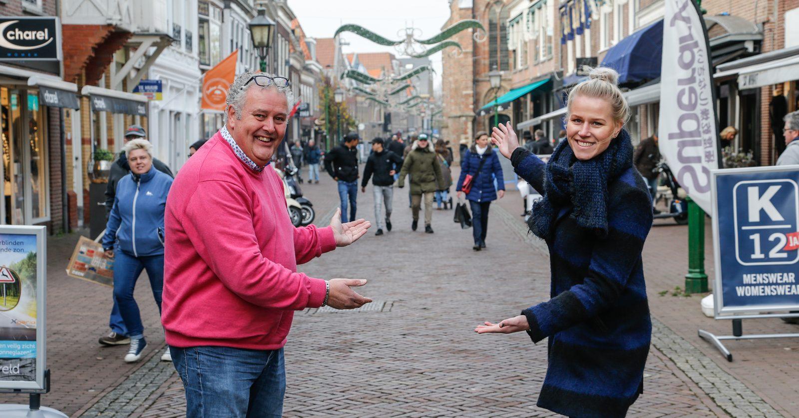 Hoornse straatambassadeurs werken aan gezamenlijke winkelstad Hoorn