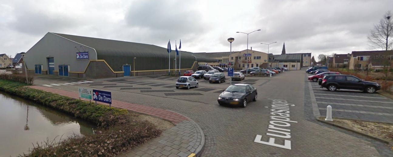 Inbraak in sportcomplex De Dars in Wervershoof