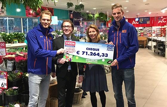 DEEN Jeugdsponsoractie geeft €375.000 aan sportende jeugd
