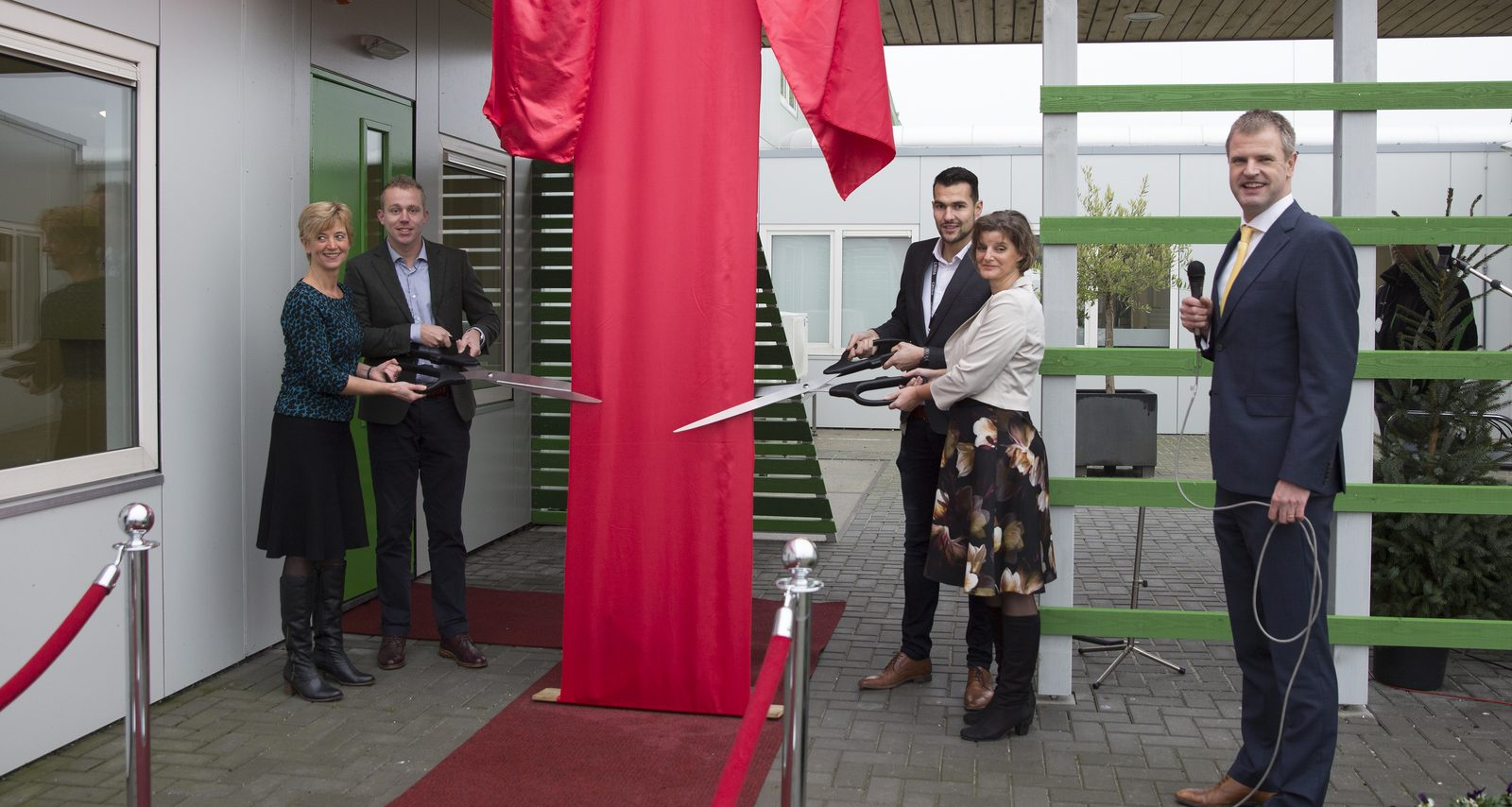 Nieuw Innovatie Centrum Incotec geopend in Enkhuizen