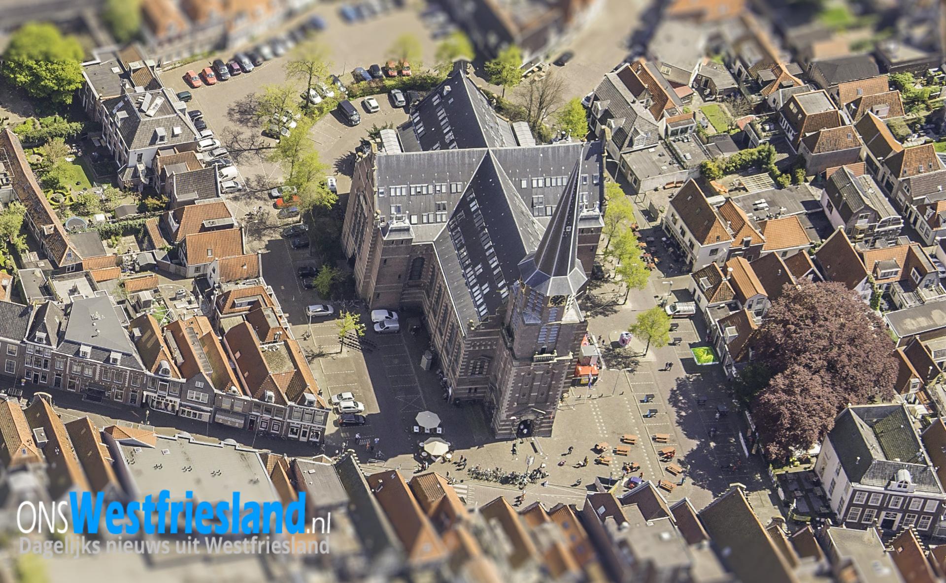 Kerkplein Hoorn; Balans zoeken tussen bewoners en bezoekers