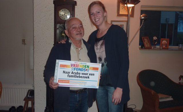 Supervrijwilliger Frans van RKSV St. George mag naar Aruba