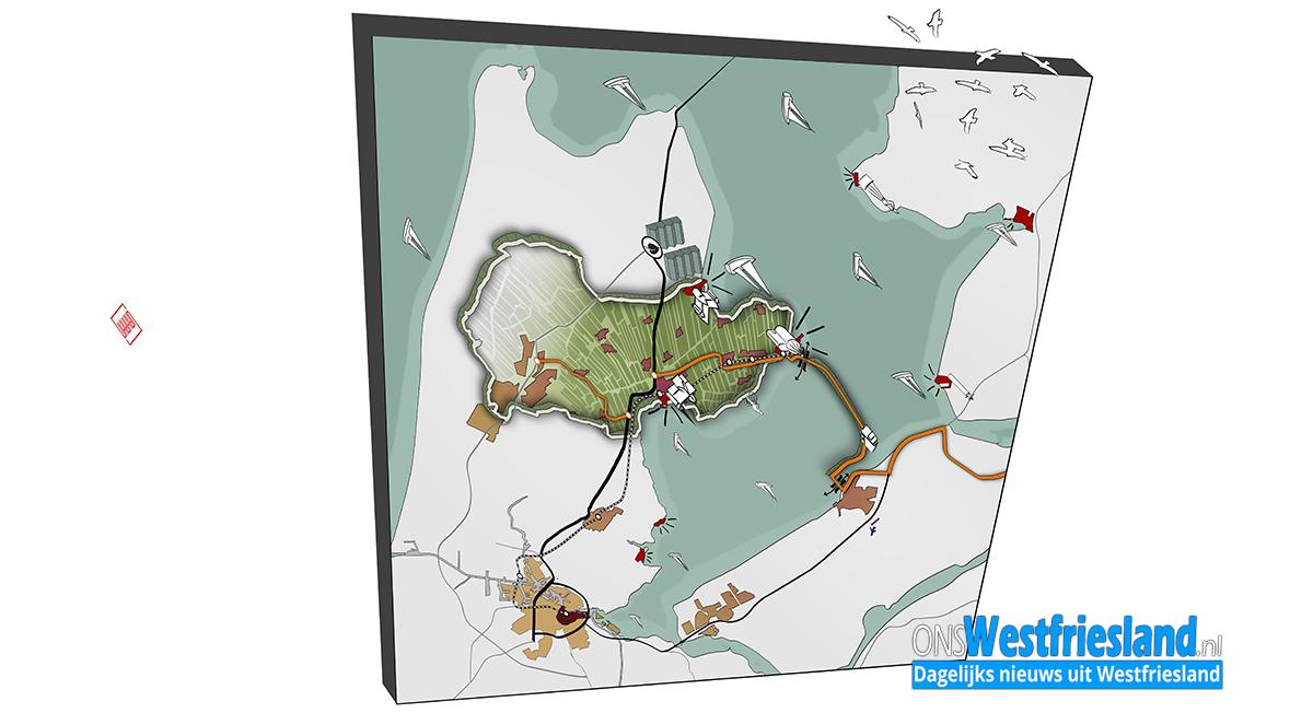 Structuurschets Westfriesland: 'Een dijk van een regio'