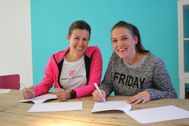 Babette Zonneveld (34) start Mom in Balance West-Friesland