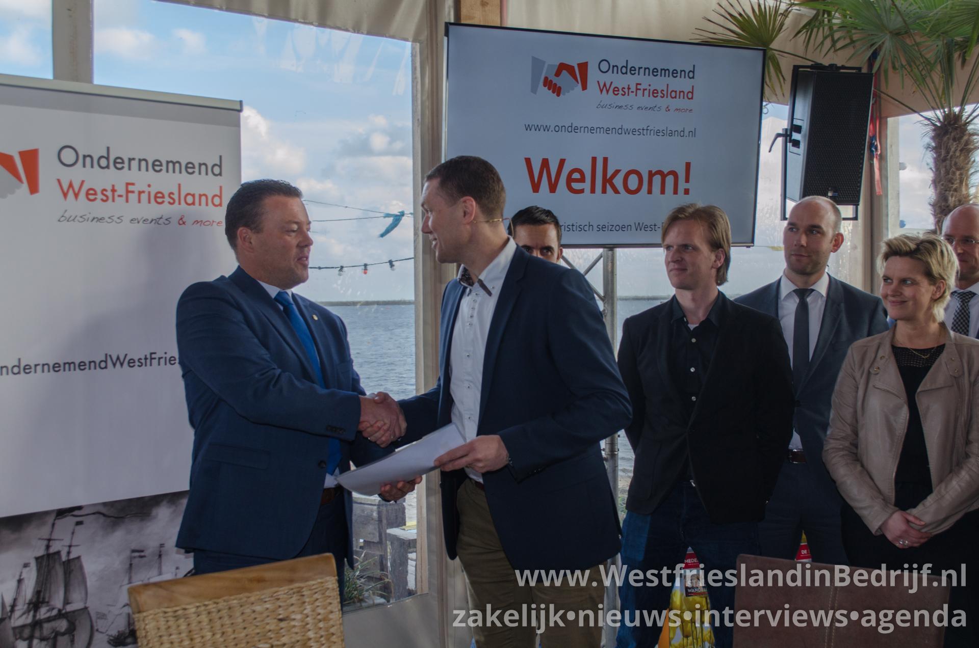 Toeristisch West-Friesland verbonden in nieuw convenant