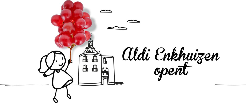 Woensdag opening vestiging Enkhuizen met vernieuwd Aldi-concept