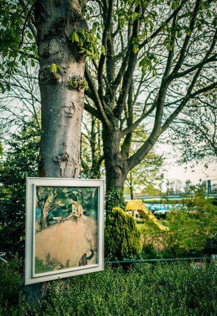 Verkochte schilderij Koningsdag Hoorn blijkt erfstuk