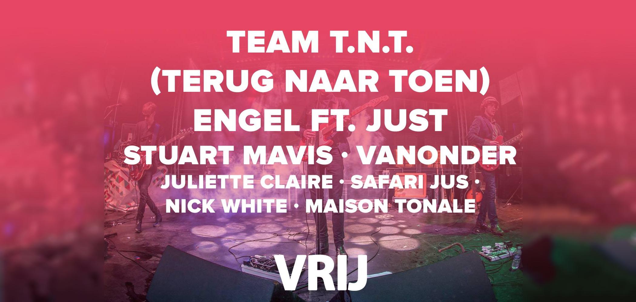 VRIJ Festival 2017 oa. Engel&Just en 80's en 90's dj's Terug Naar Toen