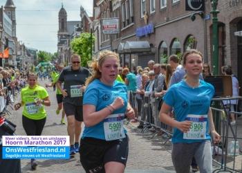Foto's Marathon Hoorn 2017: Finish 5km en scholieren