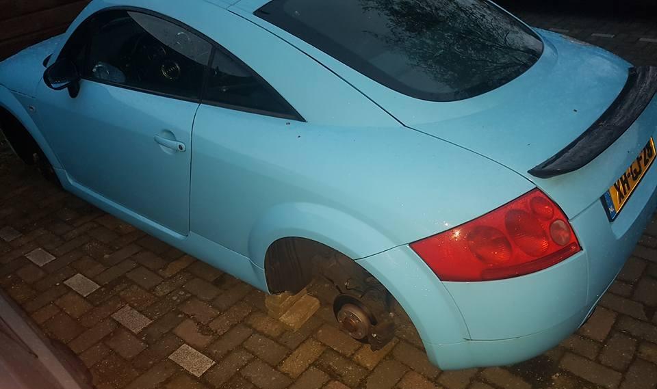 19 inch RS4 velgen van audi gestolen in Bovenkarspel
