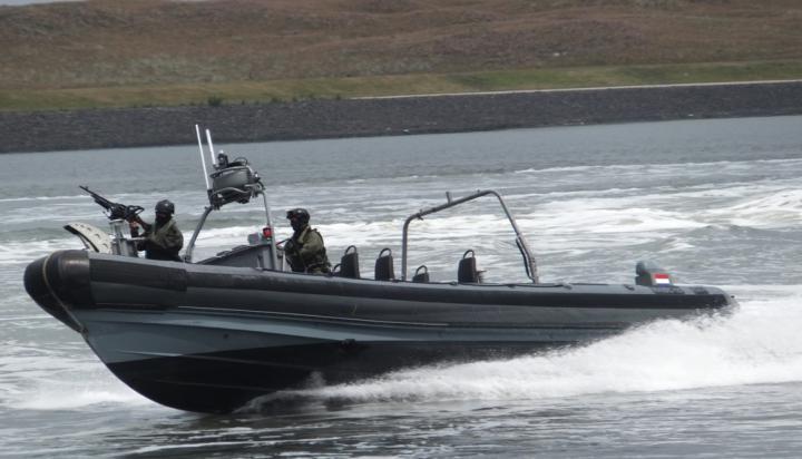 Militaire oefening op en rond het IJsselmeer