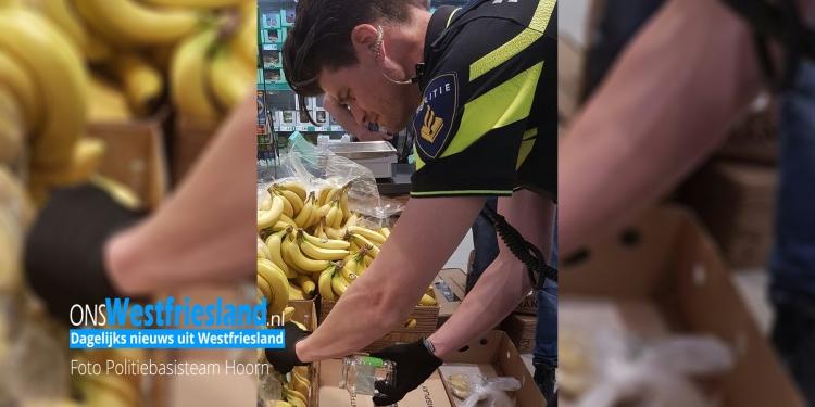 'Gevaarlijk object vanuit Colombia in Lidl Hoorn'