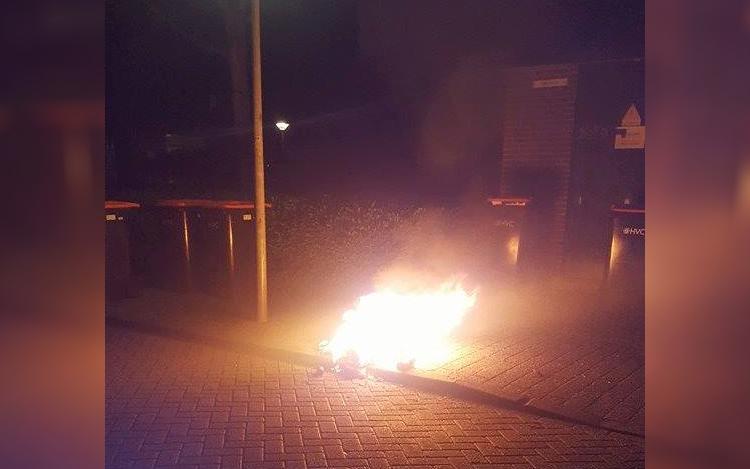 Zes branden in drie weken tijd in Hoornse wijk Kersenboogerd
