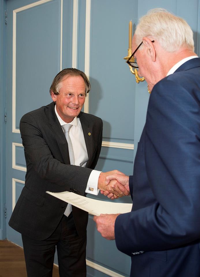 Frank Streng herbenoemd voor zes jaar als burgemeester Medemblik