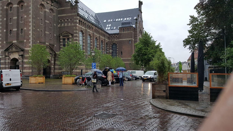 Extra parkeerplaatsen Kerkplein Hoorn direct in gebruik