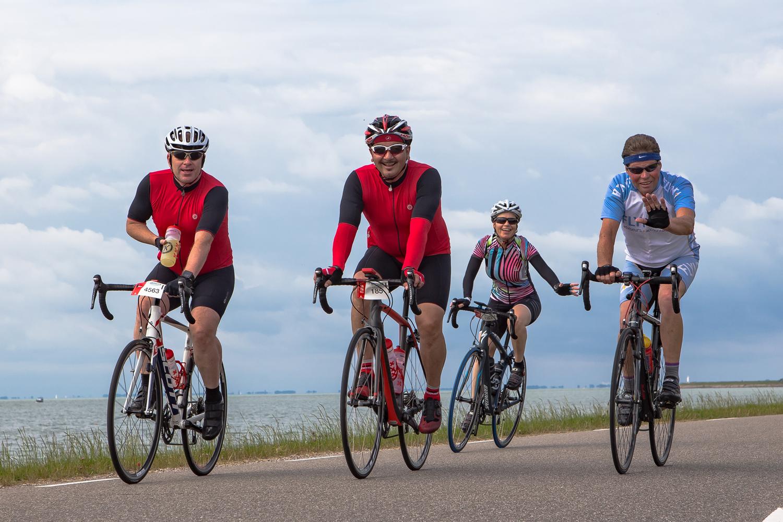 Mooi decor voor Ronde over 800 jaar oude Westfriese Omringdijk