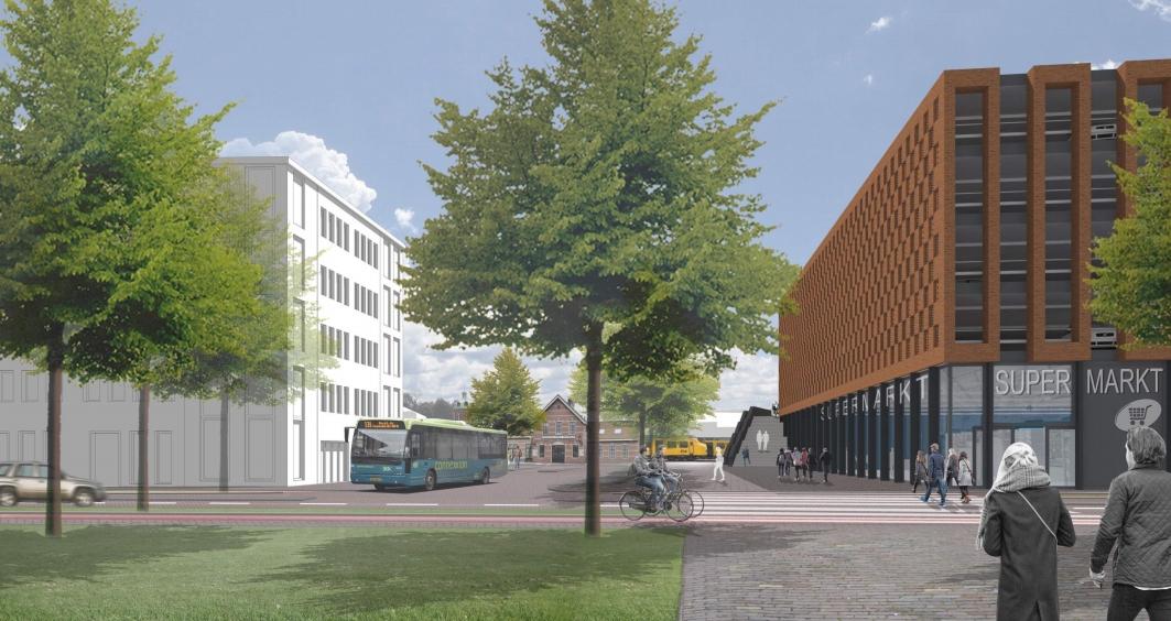 Hoe gaat stationsgebied Noord in Hoorn er straks uitzien?