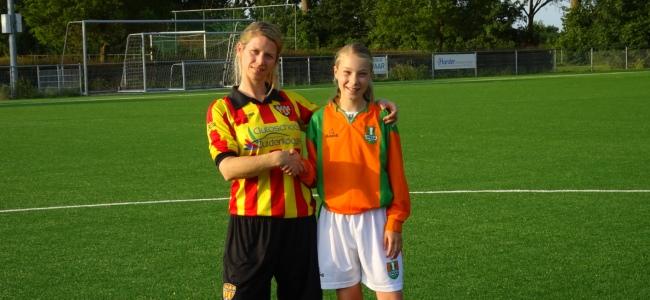 Dames- en meisjesvoetbal West Frisia en Dindua gaan samen