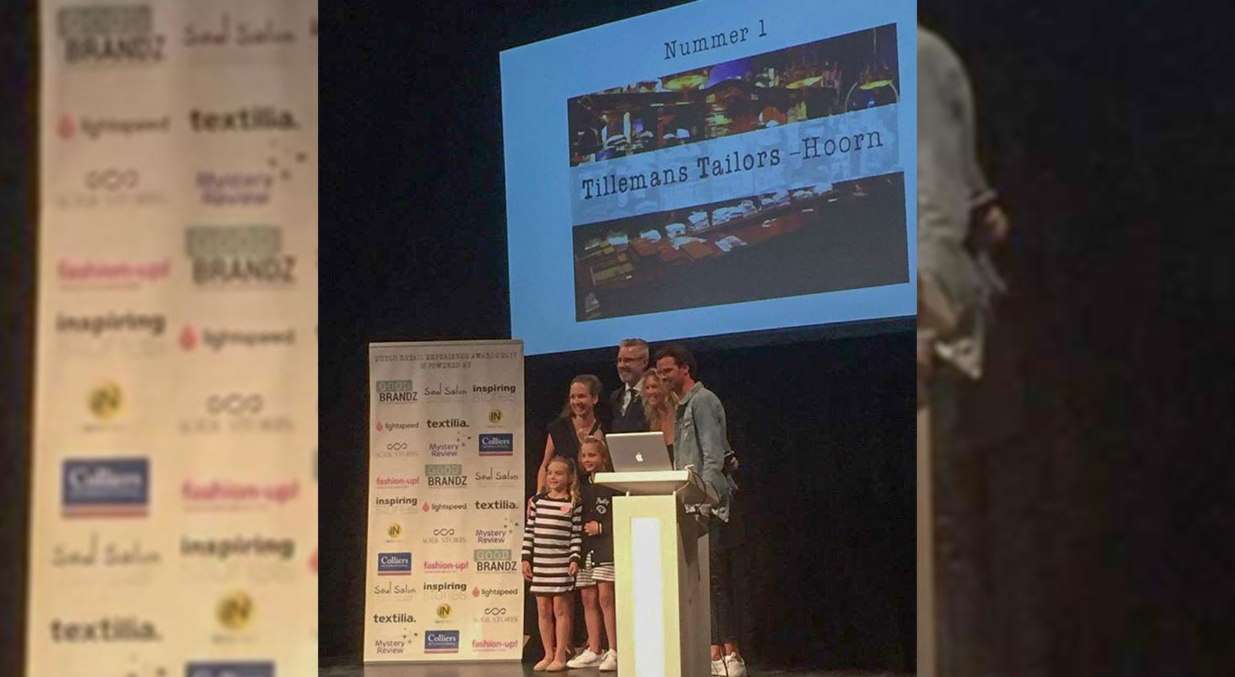 Tillemans Tailors wint Award Best Customer Experience Award – Men