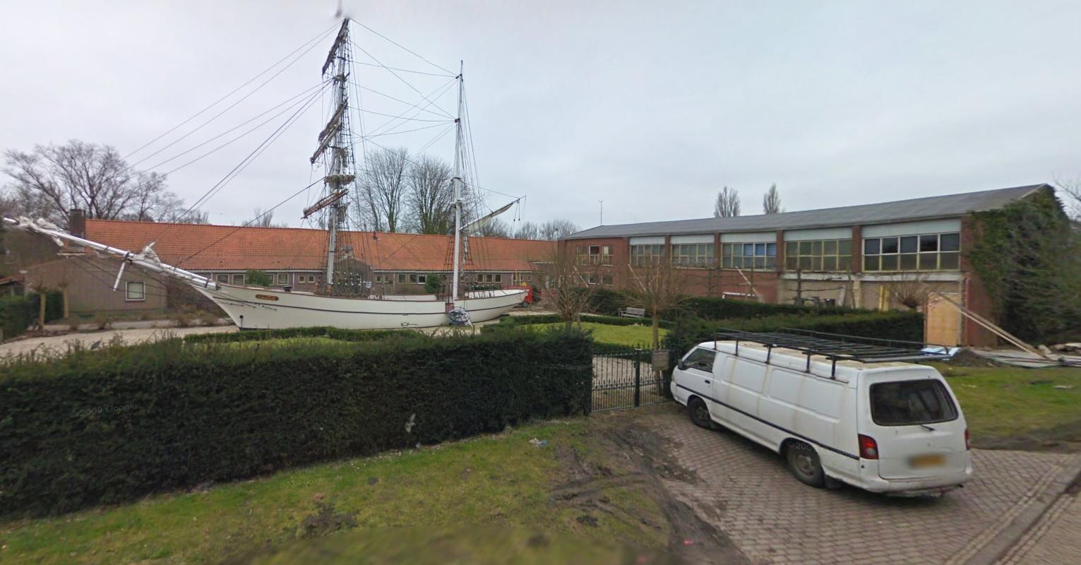 Brand in gebouw bij Enkhuizer Zeevaartschool