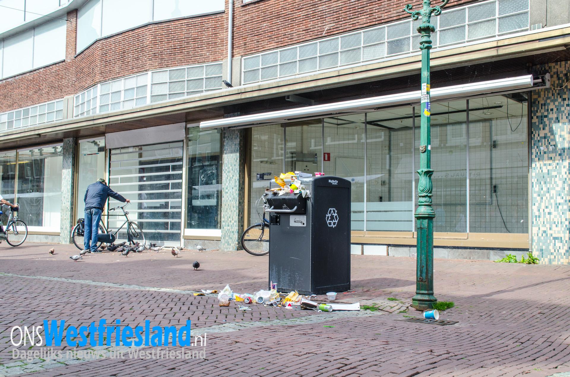 Alarm in V&D panden Hoorn ruim 15 uur luid hoorbaar [video]