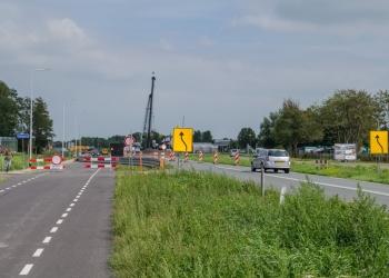 Werkzaamheden westelijk tracé N23 in augustus en september