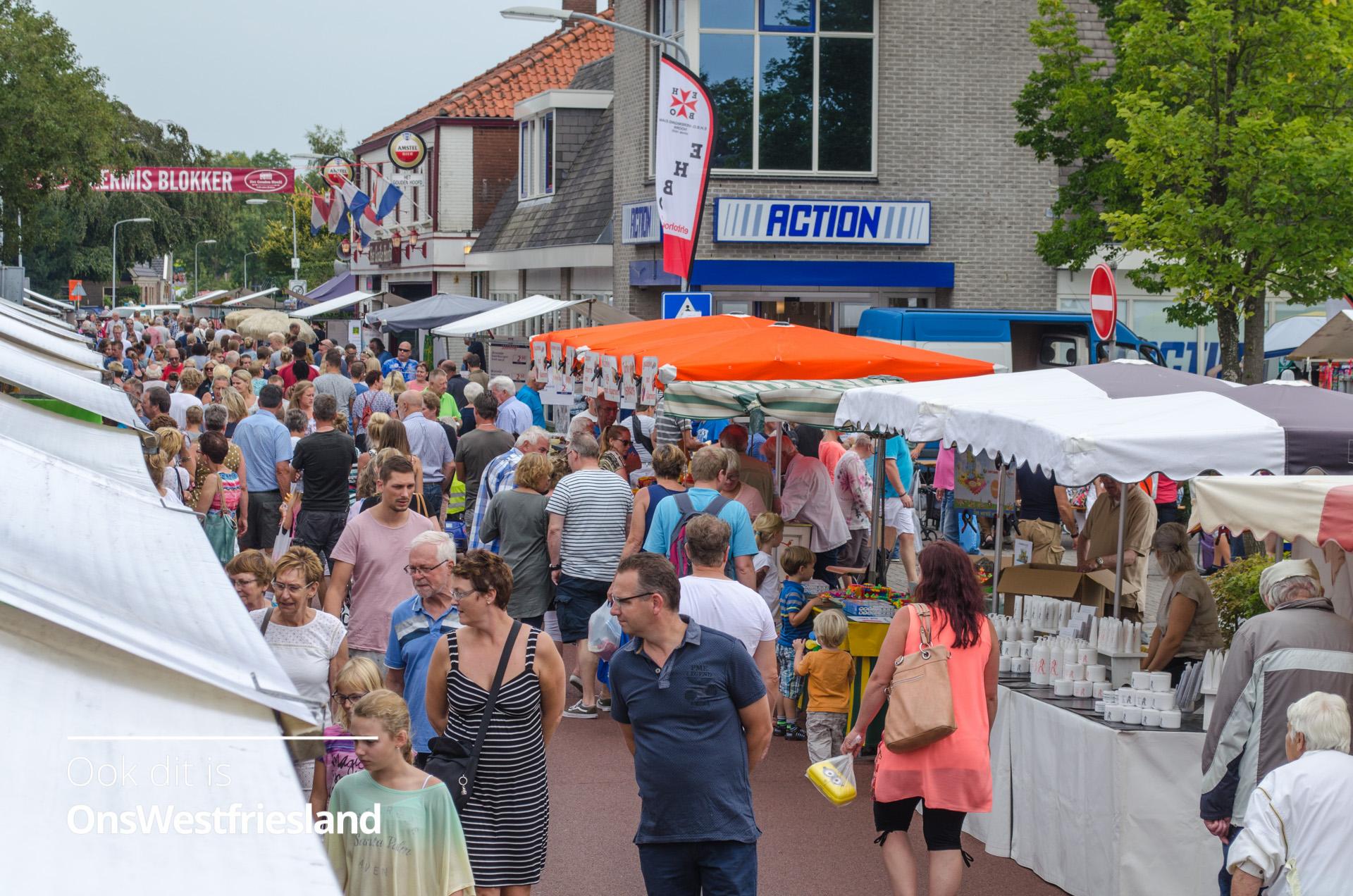 Ruime keuze met 200 marktkramen bij jaarmarkt Blokker [foto's]