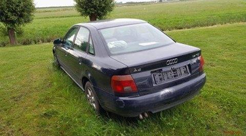 Audi A4 wordt vernietigd tenzij eigenaar zich snel meldt