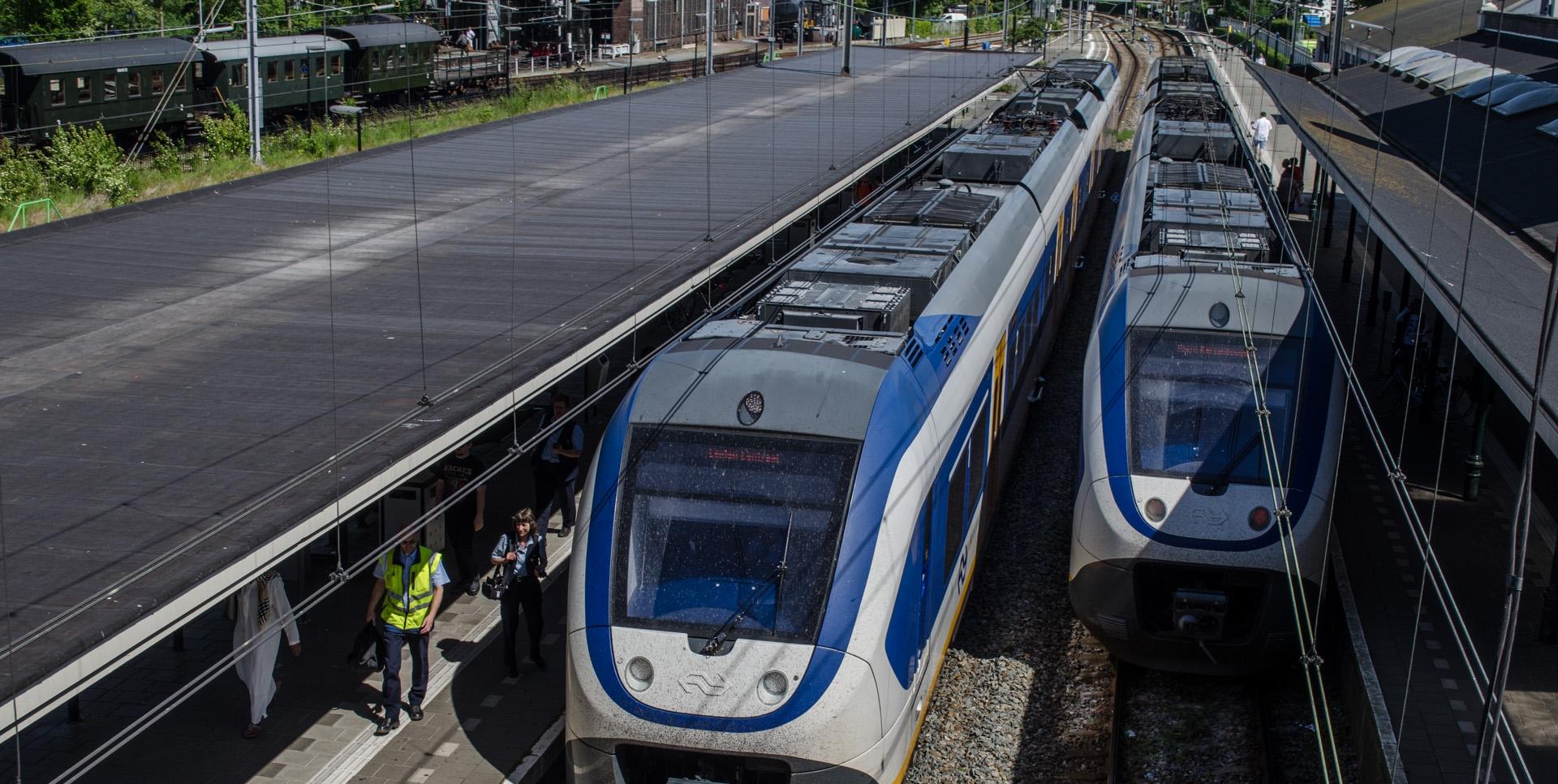 Let op. Werkzaamheden aan het spoor bij Hoorn