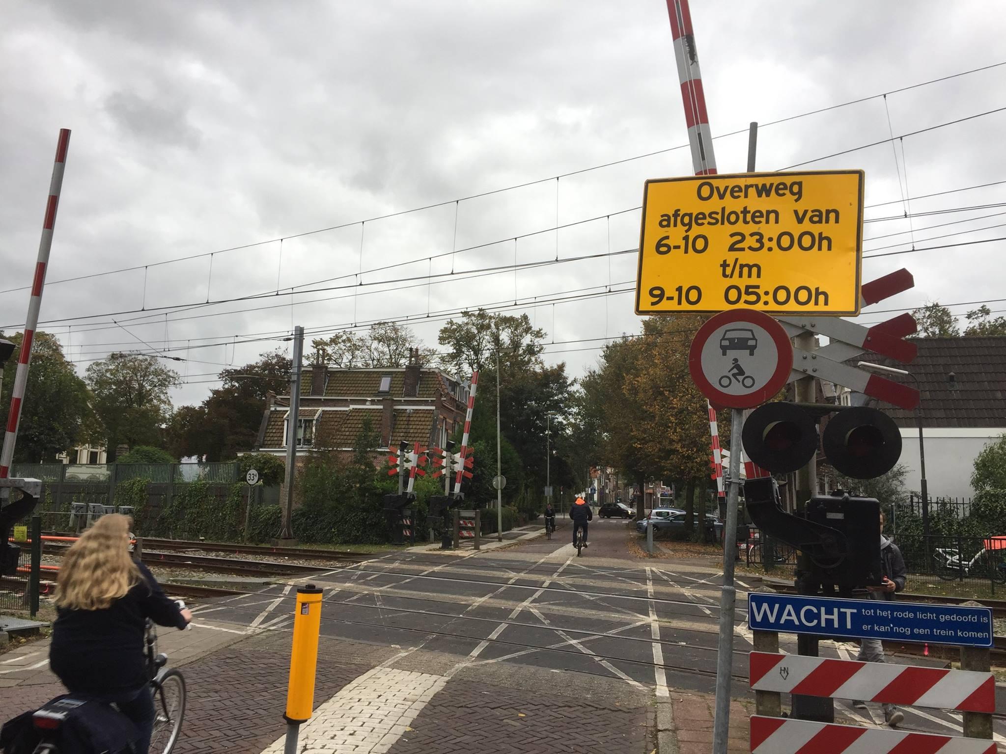 Trein- en verkeershinder rondom Hoorn weekend 7 en 8 oktober