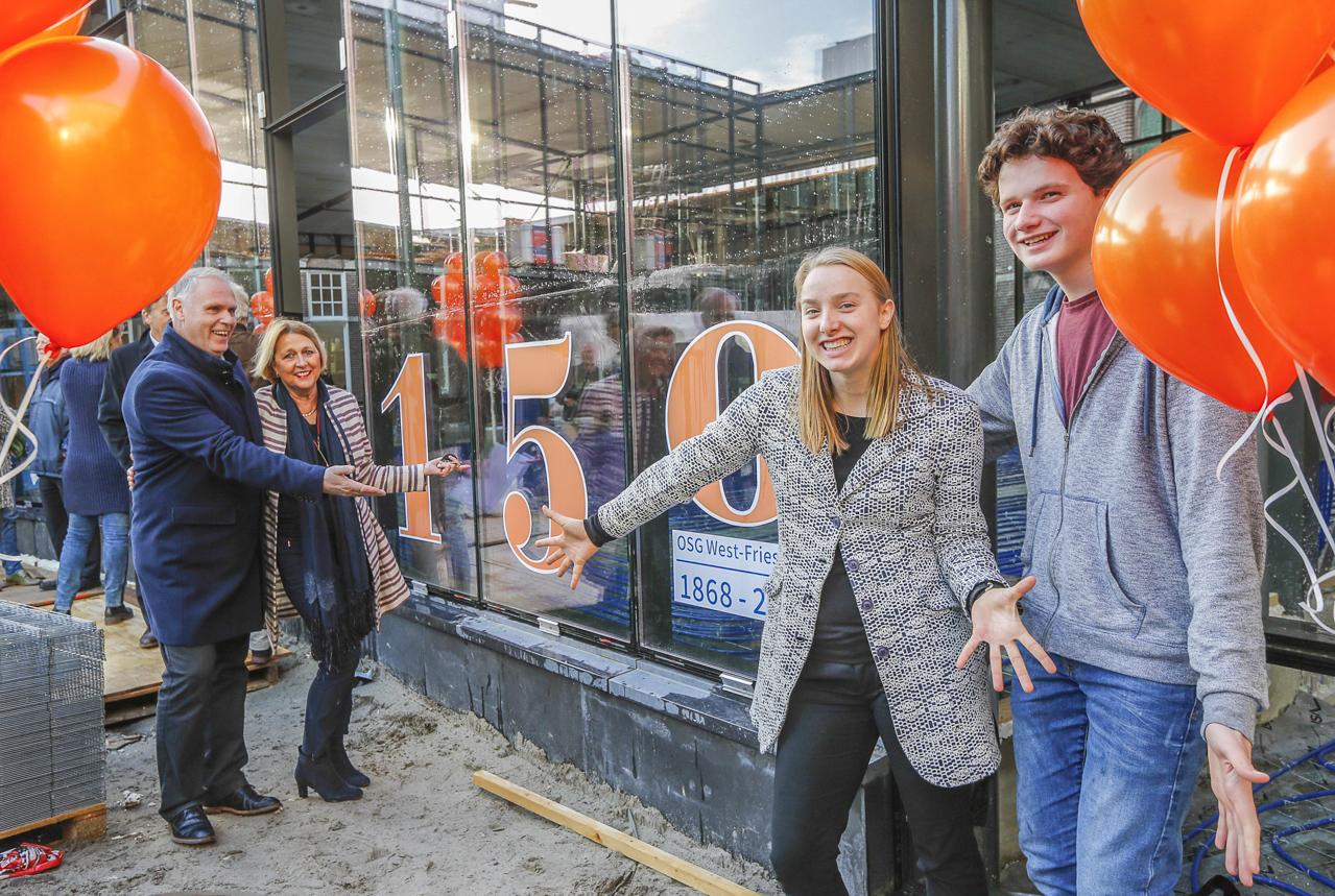 149 jarige OSG West-Friesland zet feestjaar alvast in de steigers