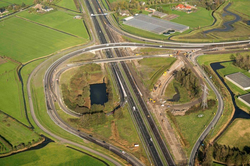 Volgende week avond/nacht afsluiting afrit 9 Hoorn Noord