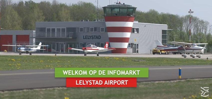 Gemeente Lelystad organiseert infomarkt over Lelystad Airport