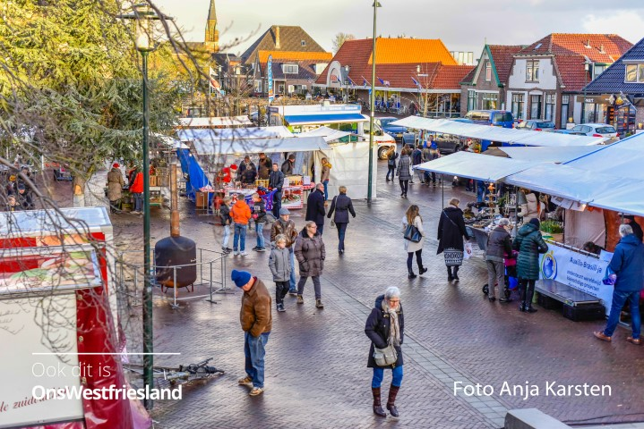 Foto's Kerstmarkt Wervershoof 2017