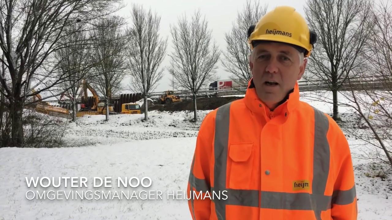 Kan Heijmans doorwerken met deze kou en sneeuw? [video]