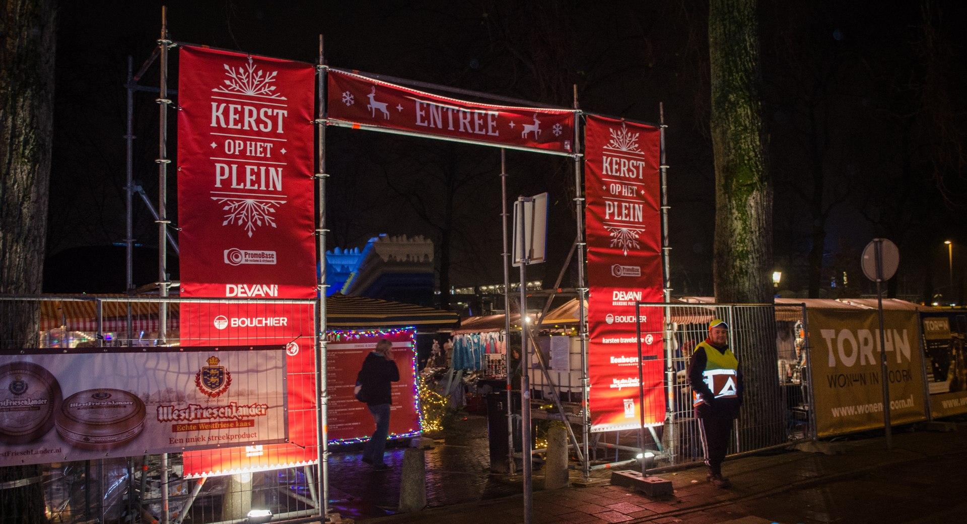 Kerst op het Plein in Hoorn; Vrijmibo, kerstmarkt en Herrie Christmas