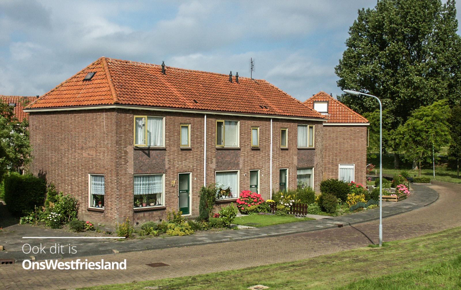 Sloop 94 woningen voor nieuwbouw in Bloemenbuurt in Enkhuizen