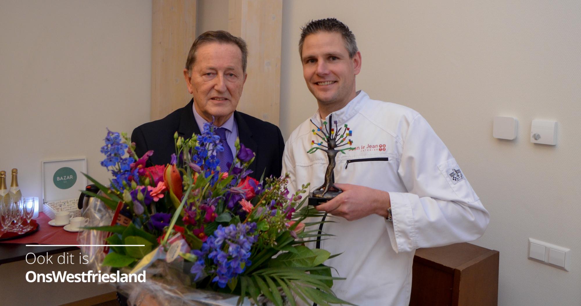 Award Duurzame Ondernemer voor Jean le Jean Catering