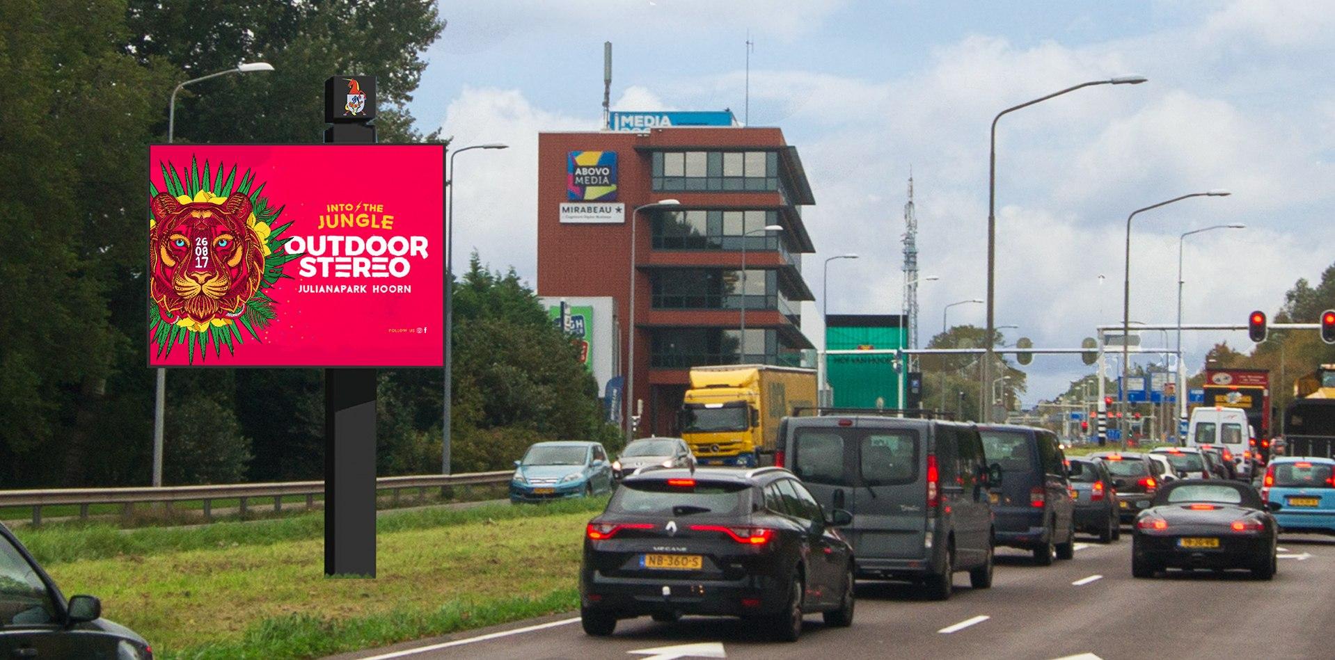 Hoorn krijgt drie digitale reclameborden van 12m2