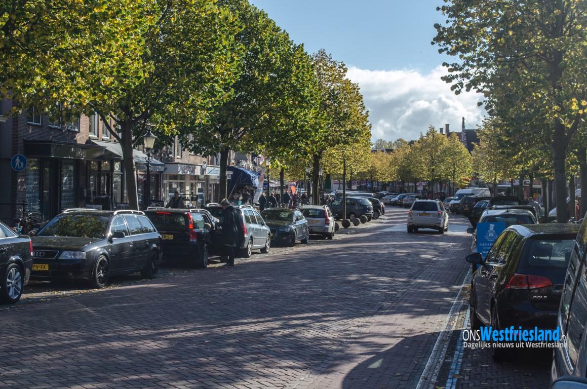 Commissievergadering op locatie over parkeren in centrum Medemblik