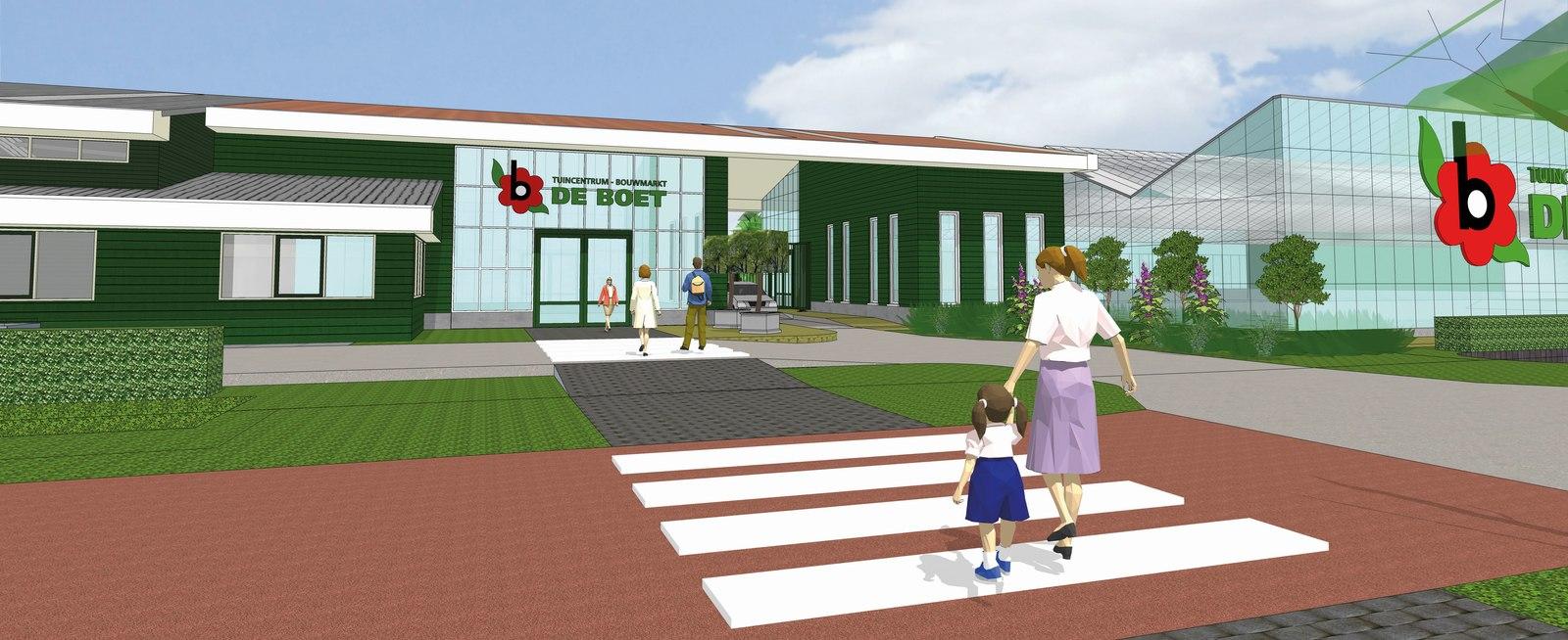 Flinke verbouwing bij Tuincentrum De Boet in Hoogwoud