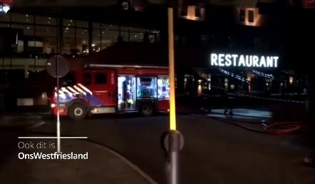 Brand bij Van der Valk Hoorn, Hotel deels ontruimd (update+video)