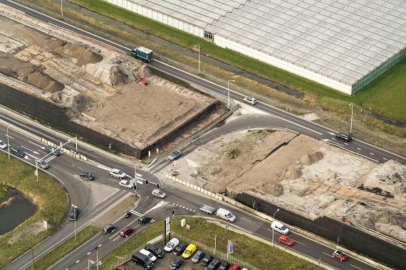 Werkzaamheden en afsluitingen op kruising Oostergouw/Westfrisiaweg